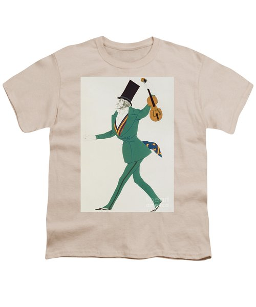 Costume Design For Paganini In The Enchanted Night Youth T-Shirt