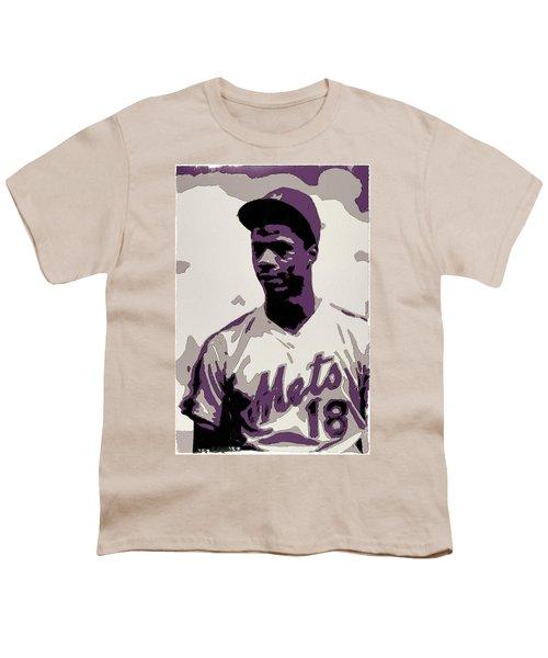 Darryl Strawberry Poster Art Youth T-Shirt