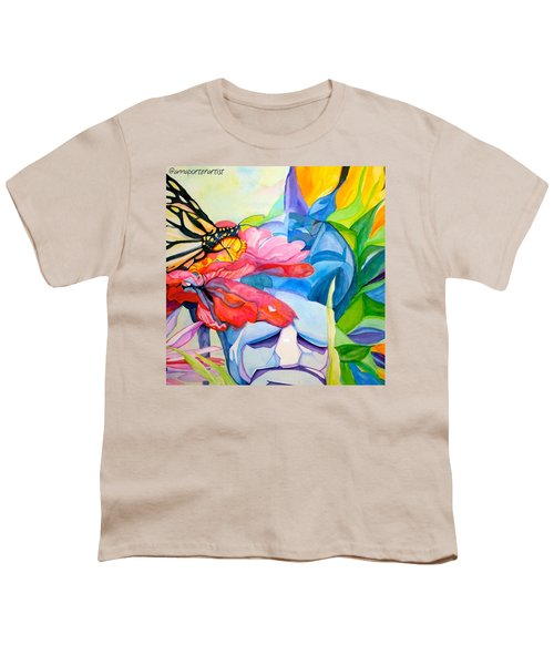 Fiji Dreams - Original Watercolor Painting Youth T-Shirt