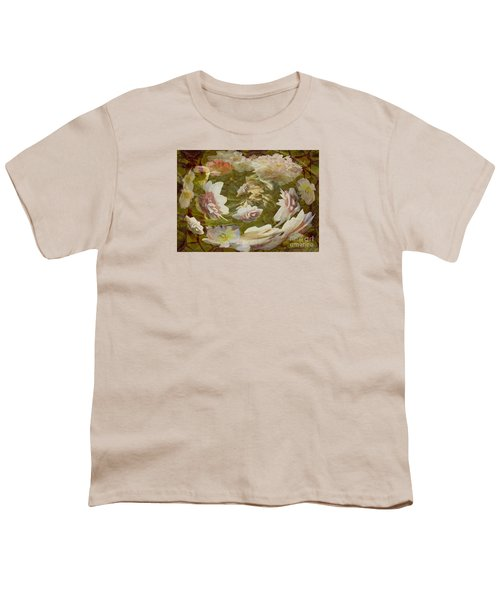 Youth T-Shirt featuring the photograph Flower Drift by Nareeta Martin