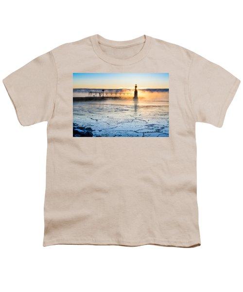 Frigid Sunrise Fog  Youth T-Shirt