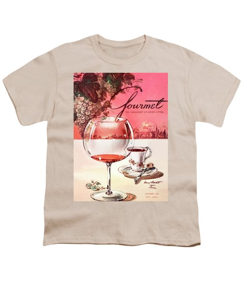 Gourmet Cover Illustration Of A Baccarat Balloon Youth T-Shirt