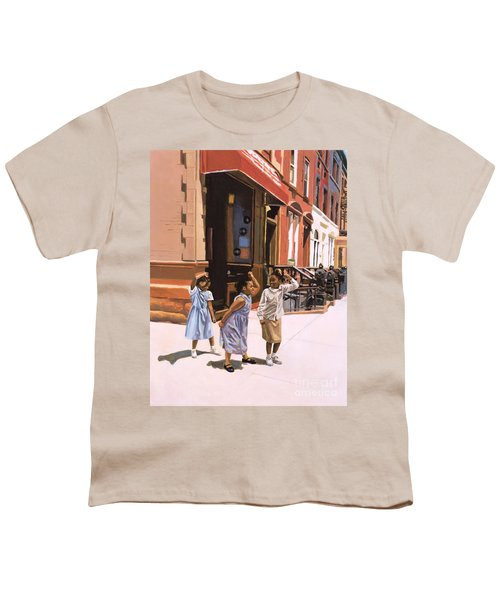 Harlem Jig Youth T-Shirt by Colin Bootman