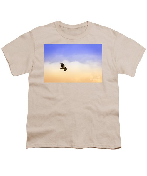 Hawk Over Head Youth T-Shirt