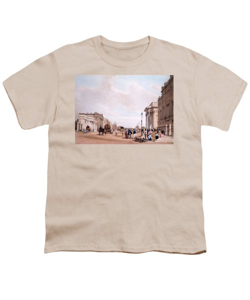 Hyde Park Corner, Looking Youth T-Shirt by Thomas Shotter Boys
