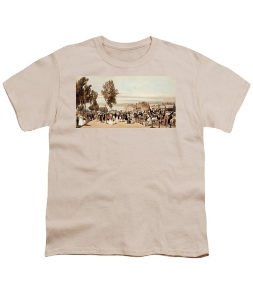 Hyde Park, Towards The Grosvenor Gate Youth T-Shirt by Thomas Shotter Boys