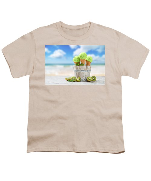 Ice Cream At The Beach Youth T-Shirt