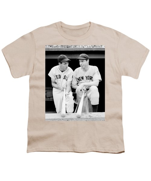Joe Dimaggio And Ted Williams Youth T-Shirt