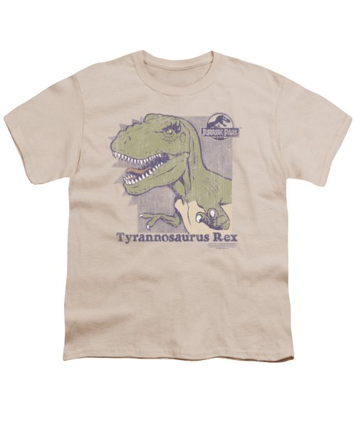 Jurassic Park - Retro Rex Youth T-Shirt