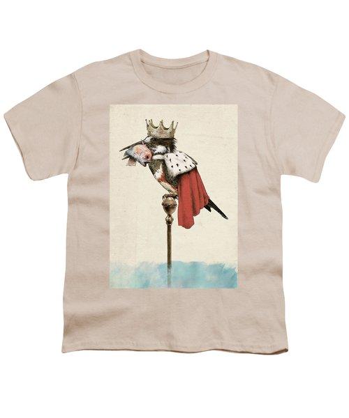 Kingfisher Youth T-Shirt by Eric Fan