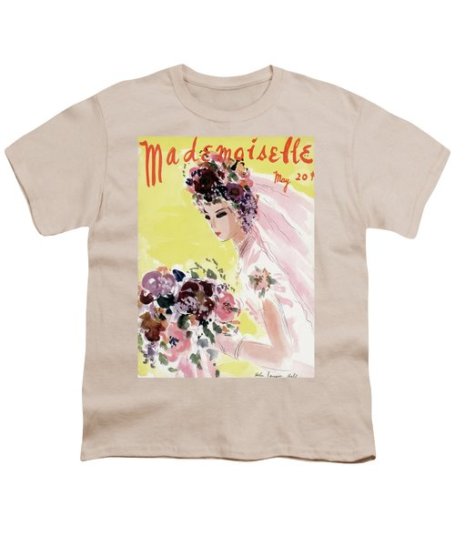 Mademoiselle Cover Featuring A Bride Youth T-Shirt