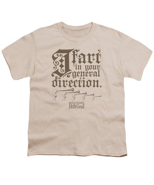 Monty Python - I Fart Youth T-Shirt by Brand A