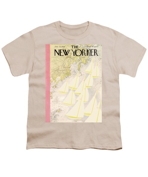 New Yorker July 23rd, 1938 Youth T-Shirt