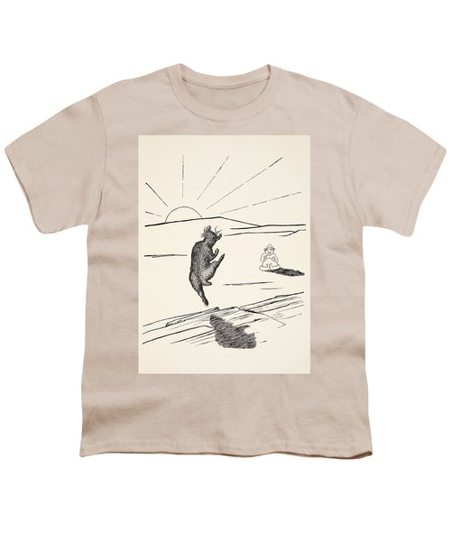 Old Man Kangaroo Youth T-Shirt