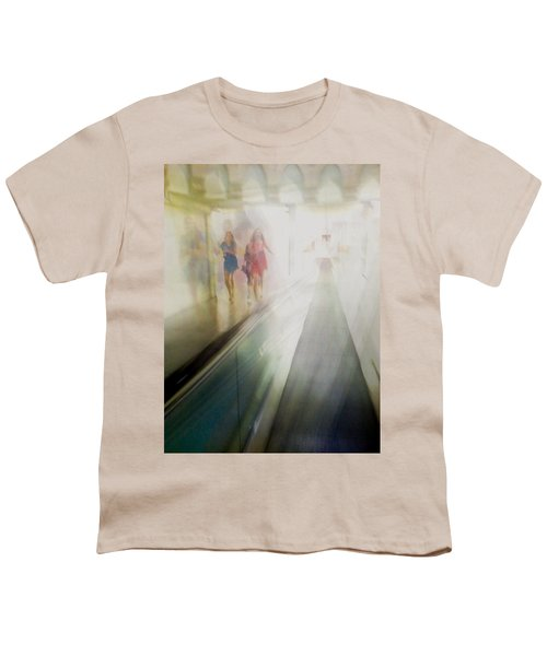 Youth T-Shirt featuring the photograph Party Girls by Alex Lapidus