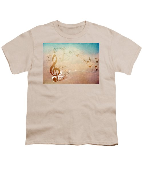 Please Dont Stop The Music Youth T-Shirt by Angelina Vick