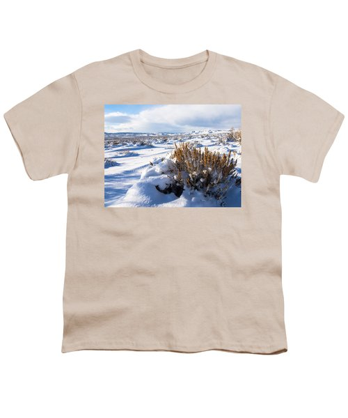 Sand Wash Basin In The Winter Youth T-Shirt