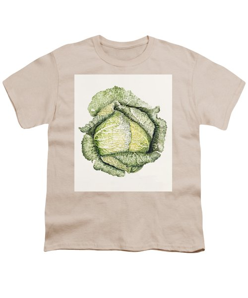 Savoy Cabbage  Youth T-Shirt by Alison Cooper