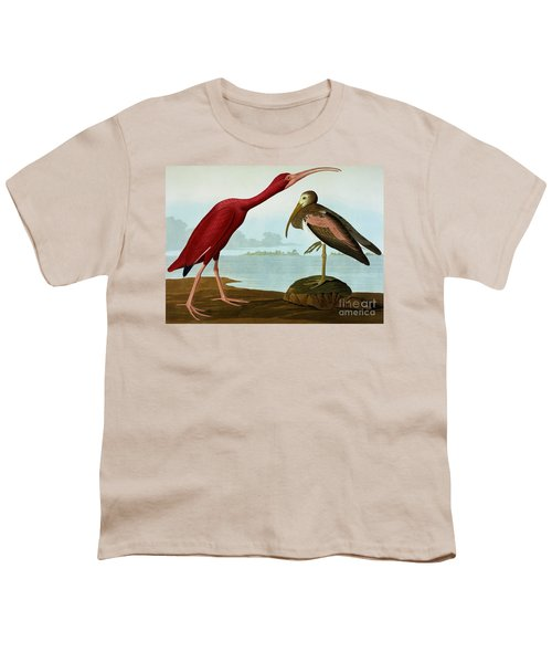 Scarlet Ibis Youth T-Shirt