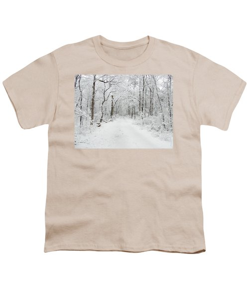 Snow In The Park Youth T-Shirt