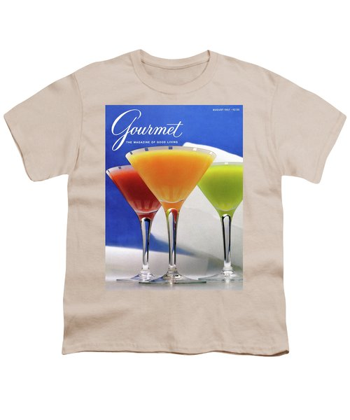 Summer Cocktails Youth T-Shirt
