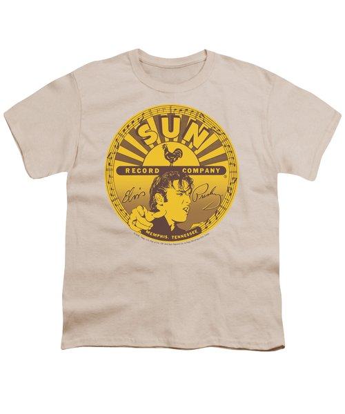 Sun - Elvis Full Sun Label Youth T-Shirt