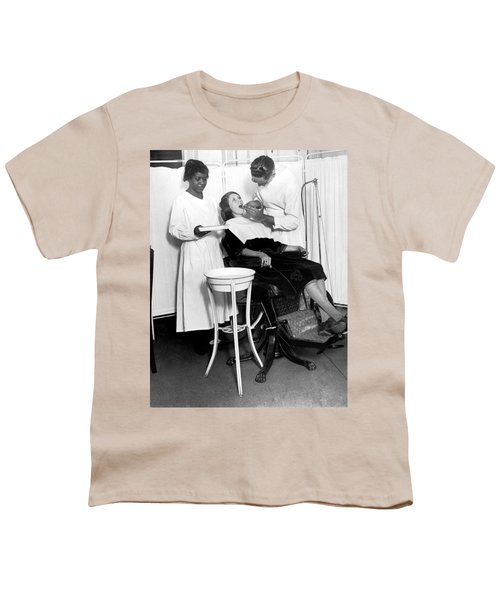 The North Harlem Dental Clinic Youth T-Shirt by Underwood Archives