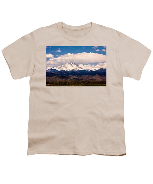 Twin Peaks Snow Covered Youth T-Shirt