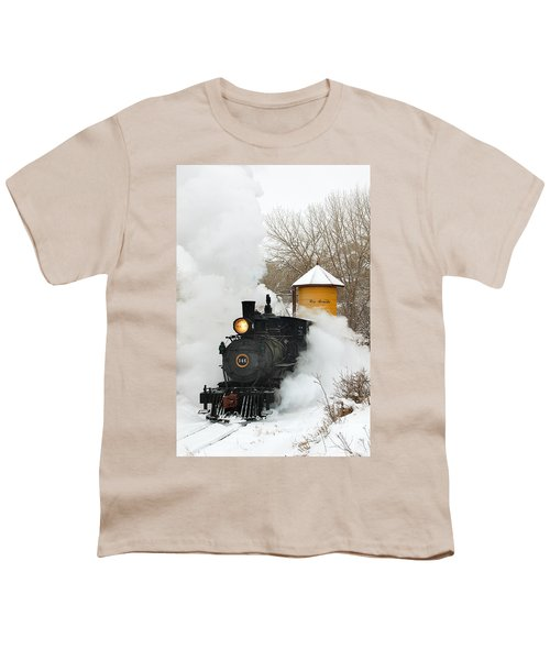 Water Tower Behind The Steam Youth T-Shirt