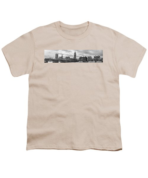 Westminster Panorama Youth T-Shirt by Heather Applegate