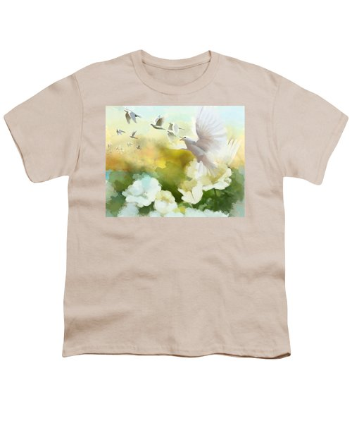 White Doves Youth T-Shirt