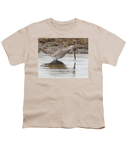 Willet Youth T-Shirt by Bill Wakeley
