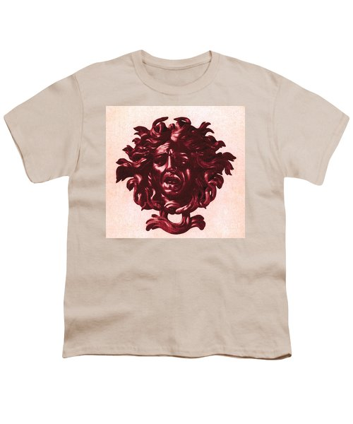 Medusa Head Youth T-Shirt by Photo Researchers