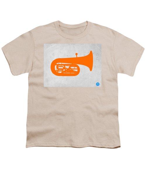 Orange Tuba Youth T-Shirt