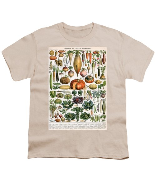 Illustration Of Vegetable Varieties Youth T-Shirt by Alillot