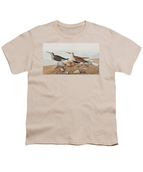 Red Backed Sandpiper Youth T-Shirt