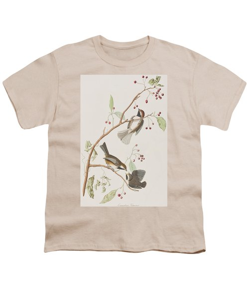 Canadian Titmouse Youth T-Shirt