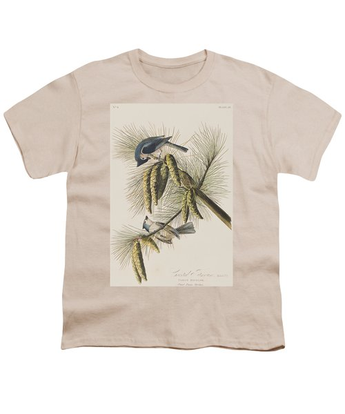 Crested Titmouse Youth T-Shirt