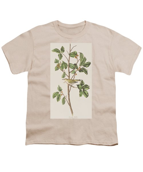 Tennessee Warbler Youth T-Shirt by John James Audubon