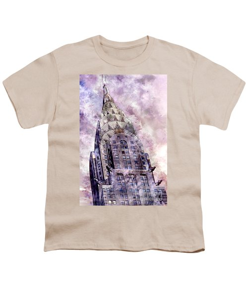 The Chrysler Building Youth T-Shirt