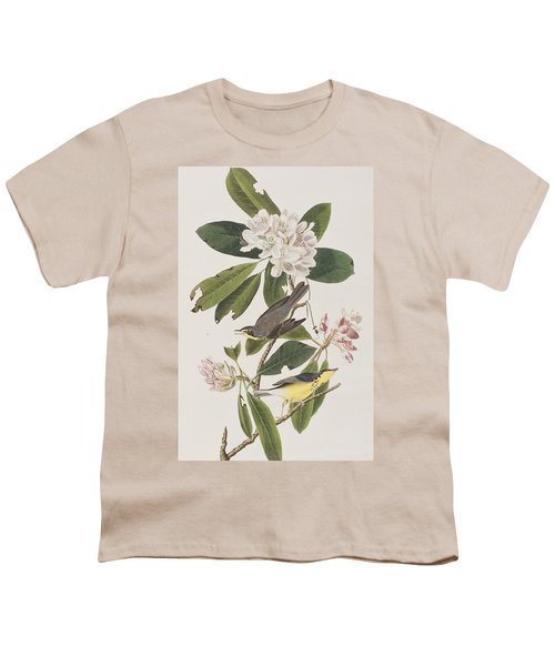 Canada Warbler Youth T-Shirt by John James Audubon