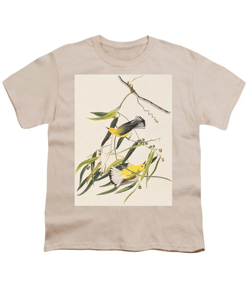 Prothonotary Warbler Youth T-Shirt