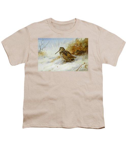 Winter Woodcock Youth T-Shirt