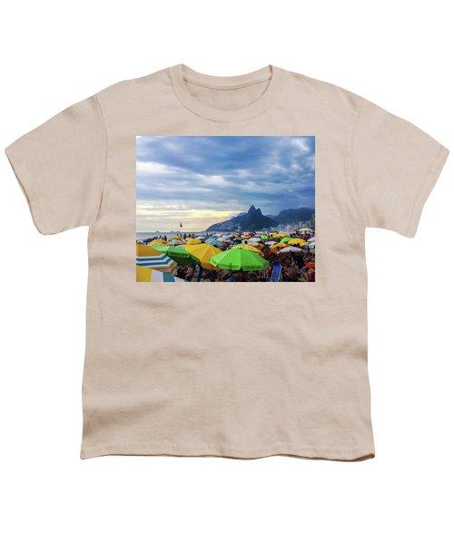 Rio De Janeiro Youth T-Shirt by Cesar Vieira