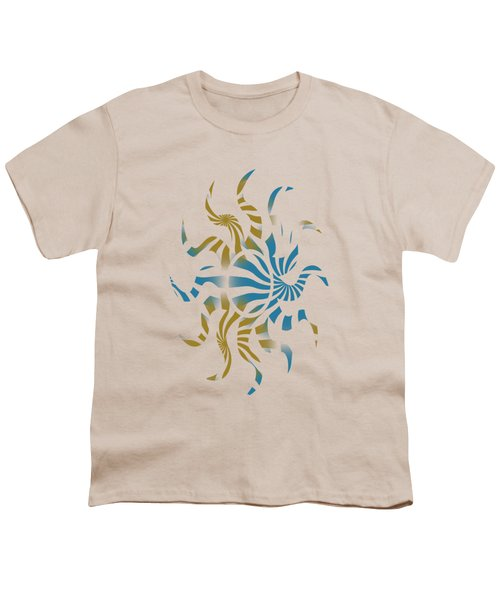 3d Spiral Pattern Youth T-Shirt