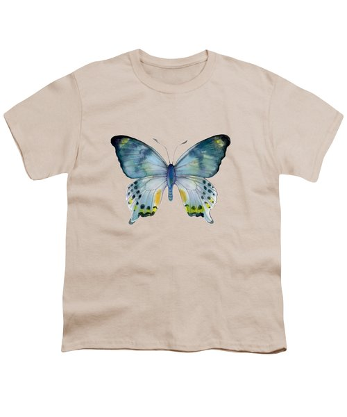 68 Laglaizei Butterfly Youth T-Shirt by Amy Kirkpatrick