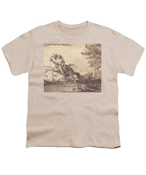A Centaur Abducting A Nymph Youth T-Shirt