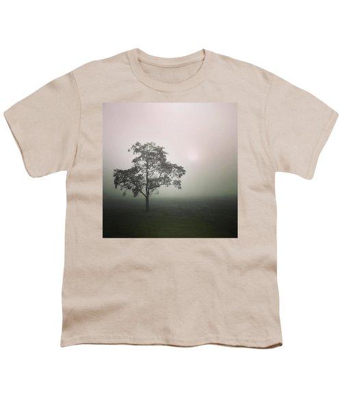 A Walk Through The Clouds #fog #nuneaton Youth T-Shirt