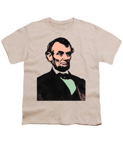 Abe Lincoln 2 Youth T-Shirt by Otis Porritt