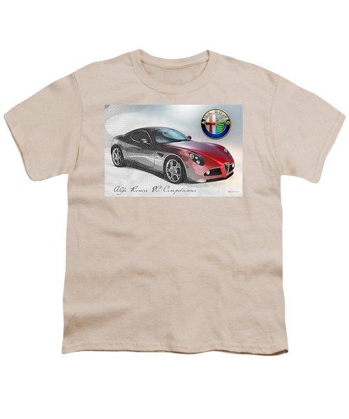 Alfa Romeo 8c Competizione  Youth T-Shirt